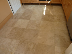 Travertine floor restoration Chorley