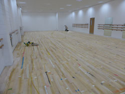 Commercial floor sanding Wigan