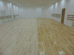 Sanding wood floors Wigan