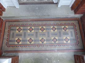 Victorian Floor Tiles Lancashire
