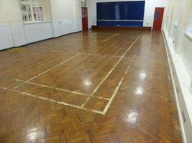 Commercial floor sander Liverpool