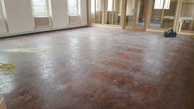 Commercial floor sander Preston