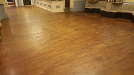 Damaged wooden floor Lancashire