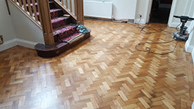 Oak Parquet Floor Preston