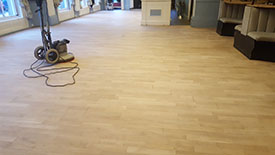 Restoring wood floors Buxton