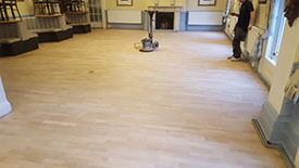 Sanding wood floors Buxton