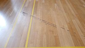 Damaged wooden floors Lancashire