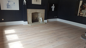 Wax Oil floor finish Lytham