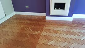 Sun damaged wood floors Lancashire