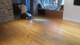 Refinishing wood floors Leyland
